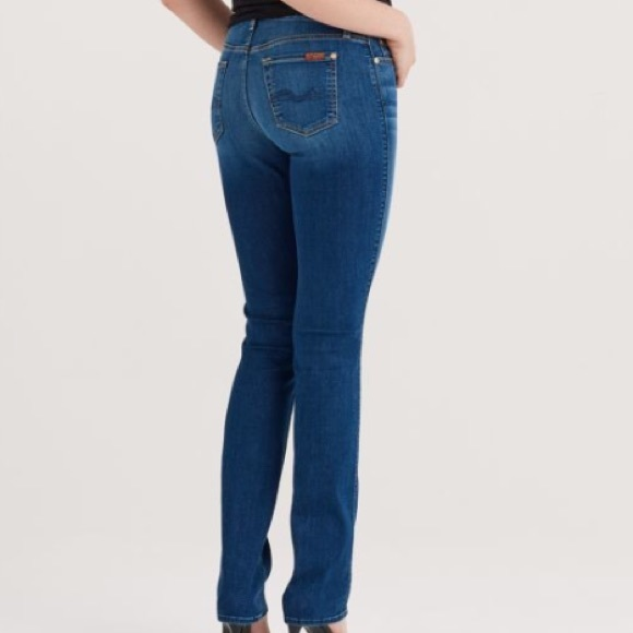 cb1b8e89a6cea 7 For All Mankind Denim - Seven 7 Jeans for all mankind Kimmie Straight